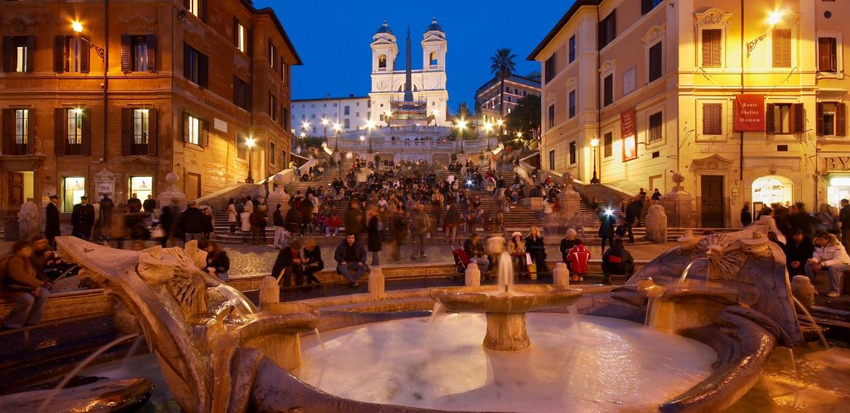 Square Piazza di Spagna