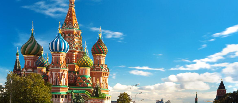 Vasilijkatedralen ved Den røde plass