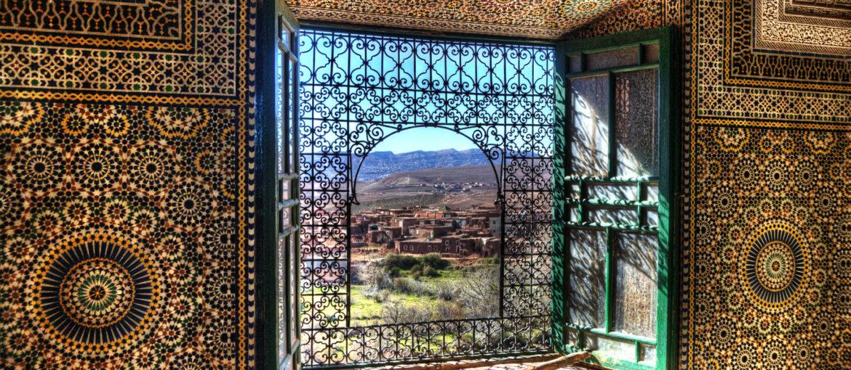 Kasbah Telouet Atlas Marokko