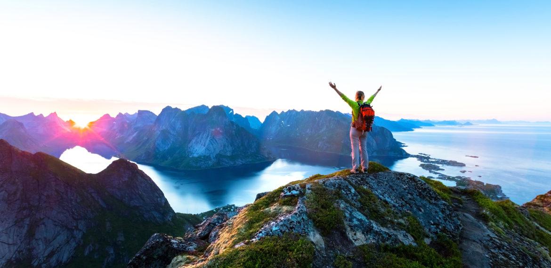 Vandring Lofoten Norge