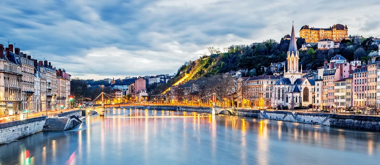 Elvecruise på Rhônen