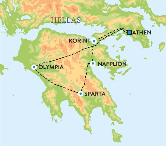 kart over det gamle hellas Det antikke Hellas kart over det gamle hellas