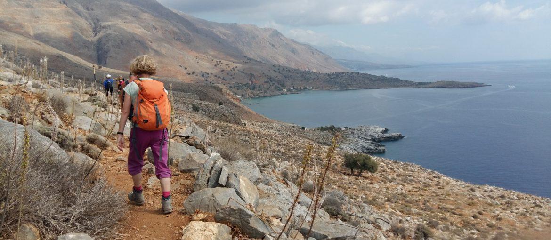 Fottur Kreta oktober 2018. Foto: Hilde Løken Magnussen