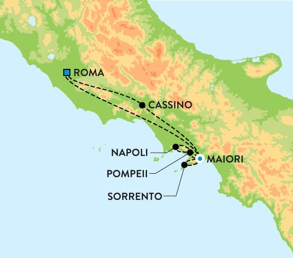 kart over amalfikysten Amalfikysten, Italia   Den guddommelige kysten kart over amalfikysten