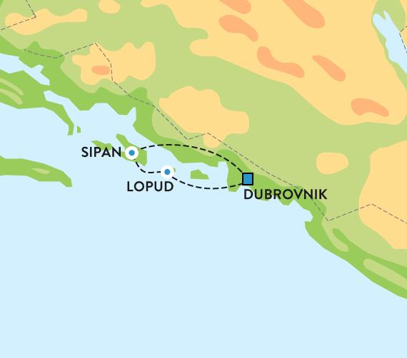fine steder i kroatia
