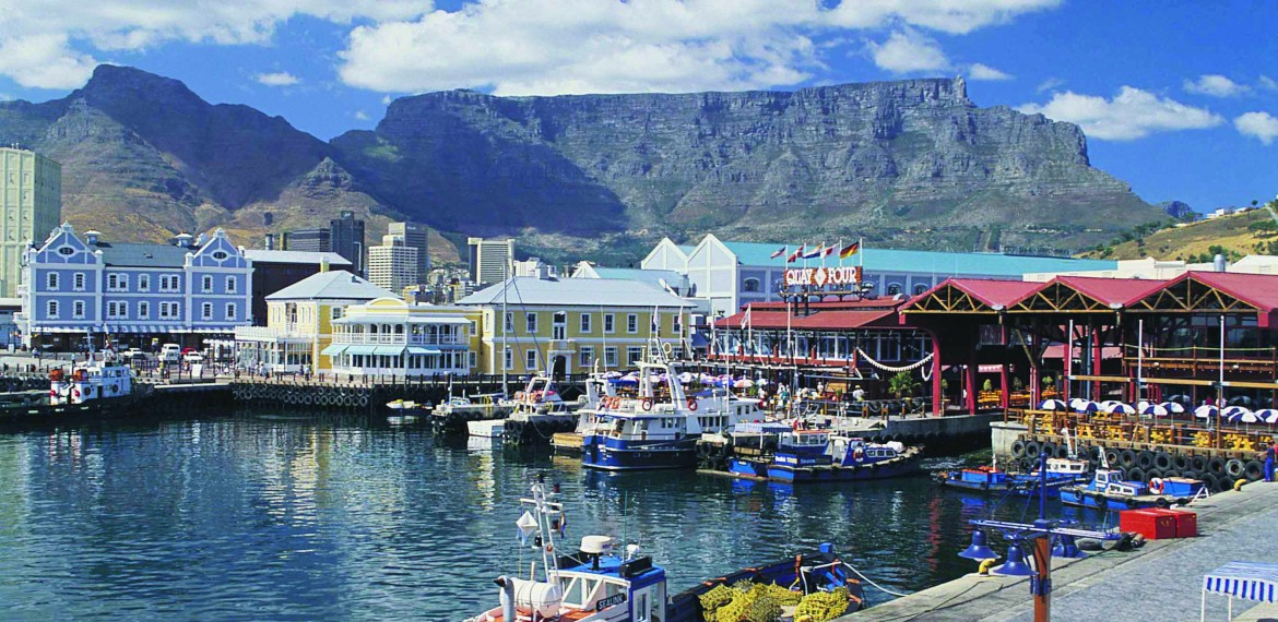 Sør Afrika Waterfront Cape Town