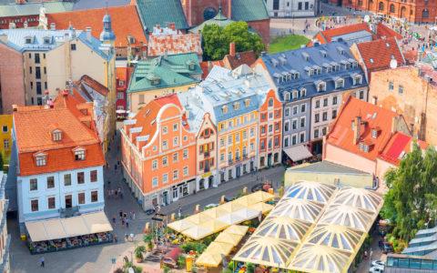 Riga Latvia Kor