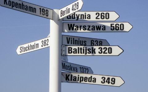 Klaipeda, Litauen Kor