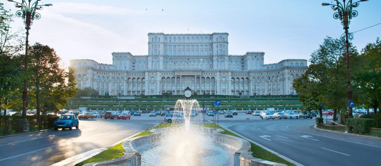 Parlamentsbygningen i Bucuresti