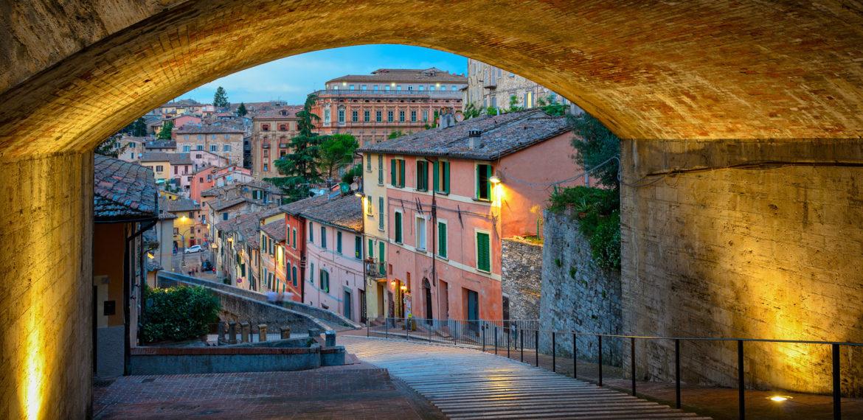 Italia-Perugia-via