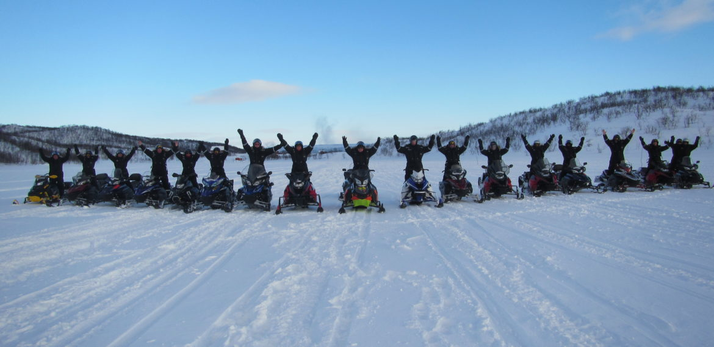 Finnmark scootersafari