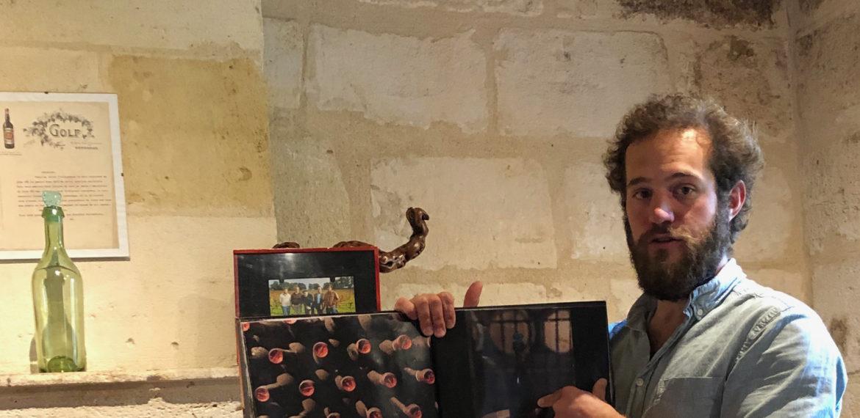 Matthieu David Beaulieu forklarer om vin på Chateau Coutet