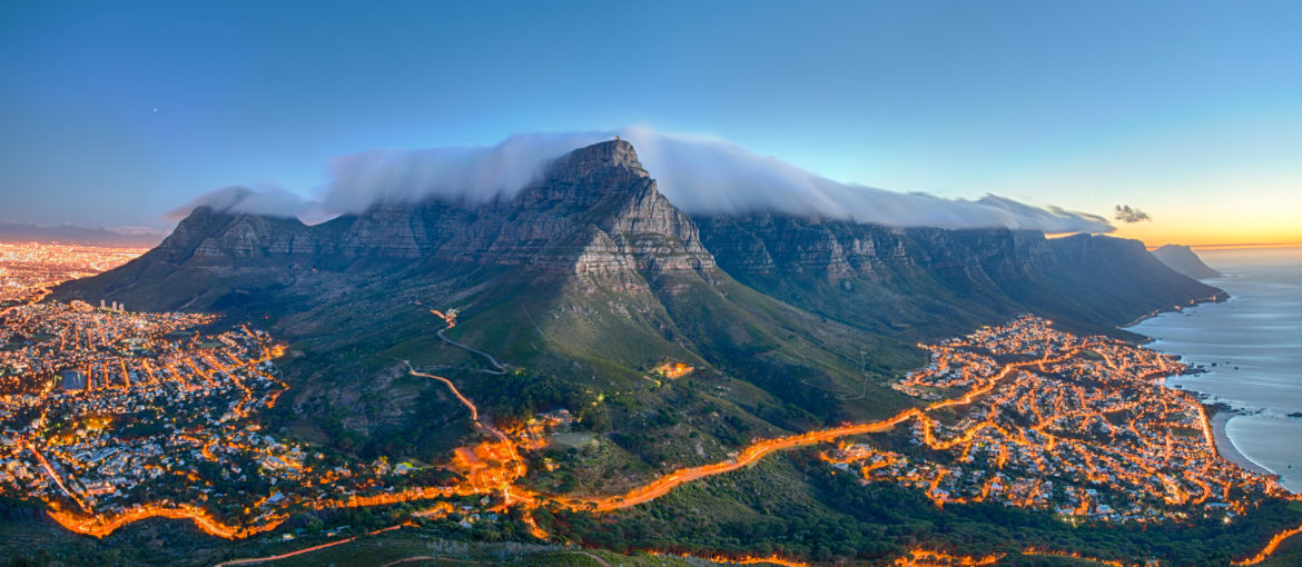 Table Mountain, Cape Town, Sør-Afrika