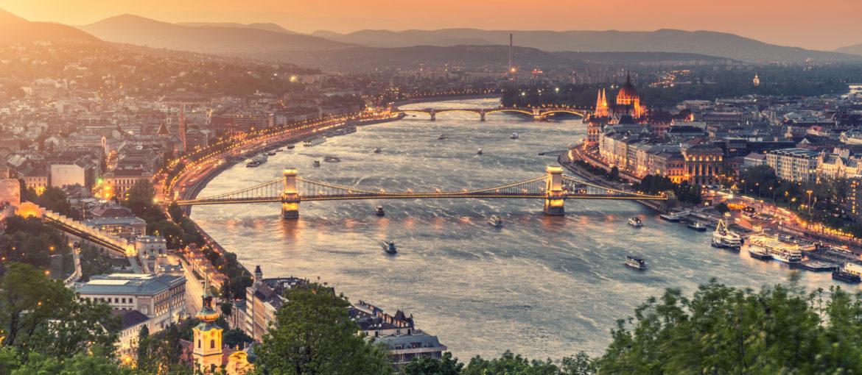 Donau, livsnerven gjennom Budapest