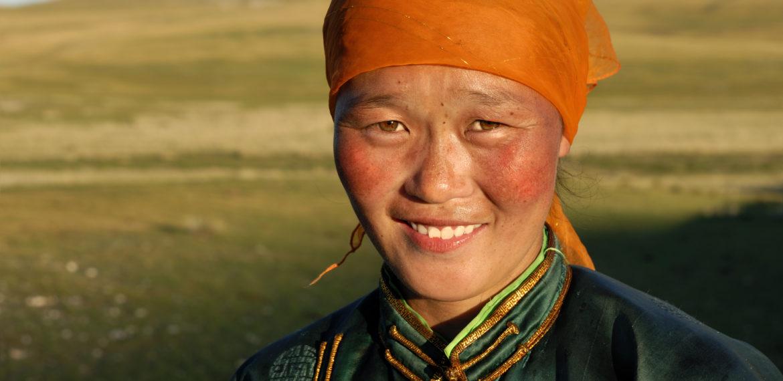 Mongolia jente kvinne