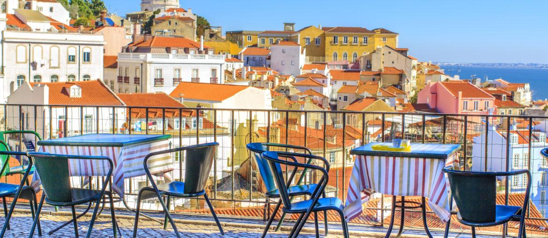 Alfama, en av de severdige bydelene i Lisboa.