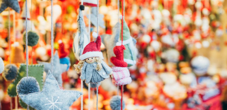 Julepynt jul julemarked