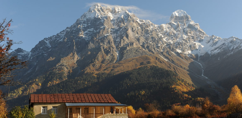Georgia, Svaneti, Grand Hotel Ushba