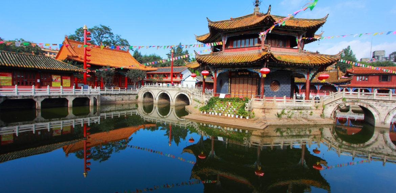 Kunming Temple Yunnan Kina