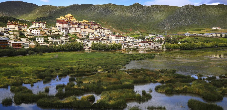 Ganden Sumtsenling, Shangri-La, Yunnan