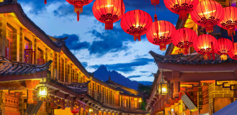 Gamlebyen i Lijang, Kina
