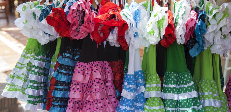 Flamenco-kjoler Spania