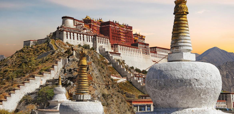 Potala-palasset, Lhasa Tibet