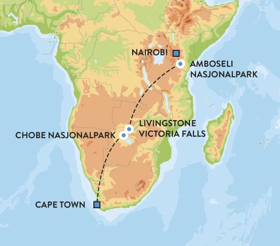 Rundreise I Afrika Med Safari Oktober 2019 Escape Travel
