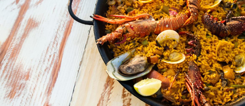 Paella mat Spania