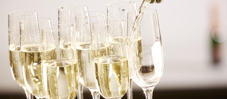 Champagne drikke vin