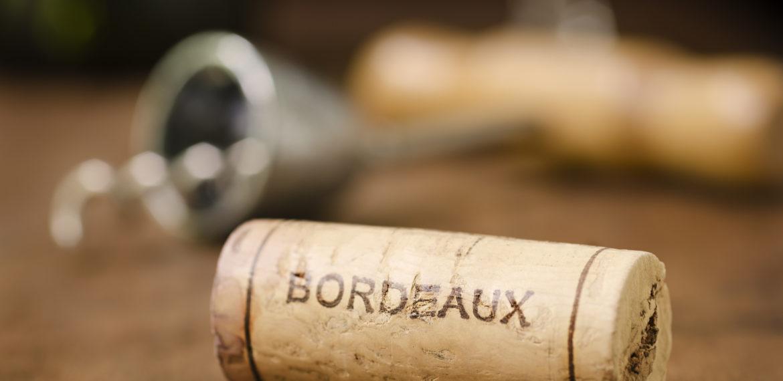 Bordeaux Frankrike kork
