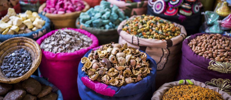 Krydder Marokko Marrakesh