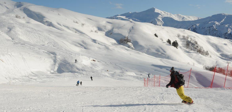 Georgia Svaneti Tetnuldi Skiing Resort
