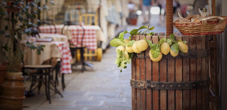 italia, milano, mat, retaurant, sitroner