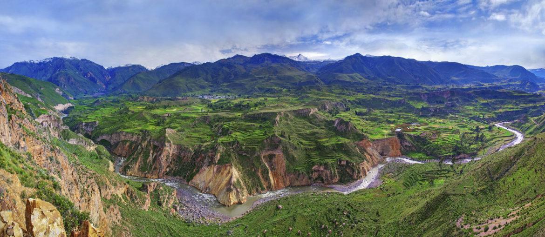 Colcadalen Colca canyon Peru