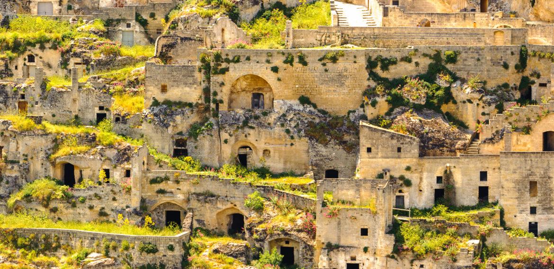 Grottebyen Matera