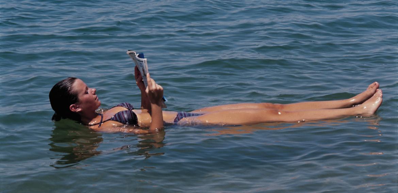 Jordan, et bad i Dødehavet