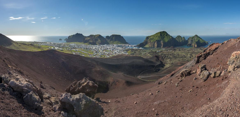 Vulkanen Eldfell Island Foto: Karsten Bidstrup