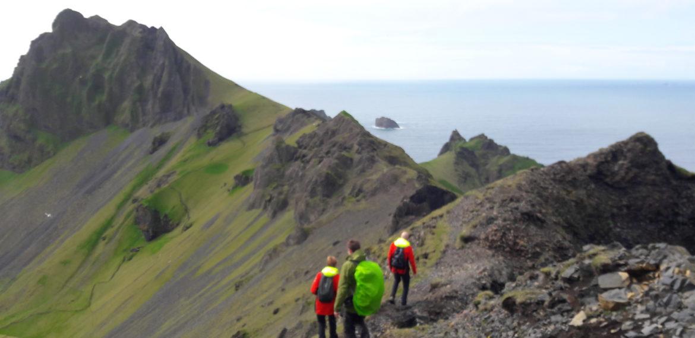 Island fottur