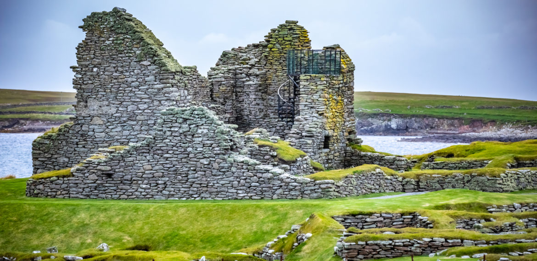 Jarlshof på Shetland