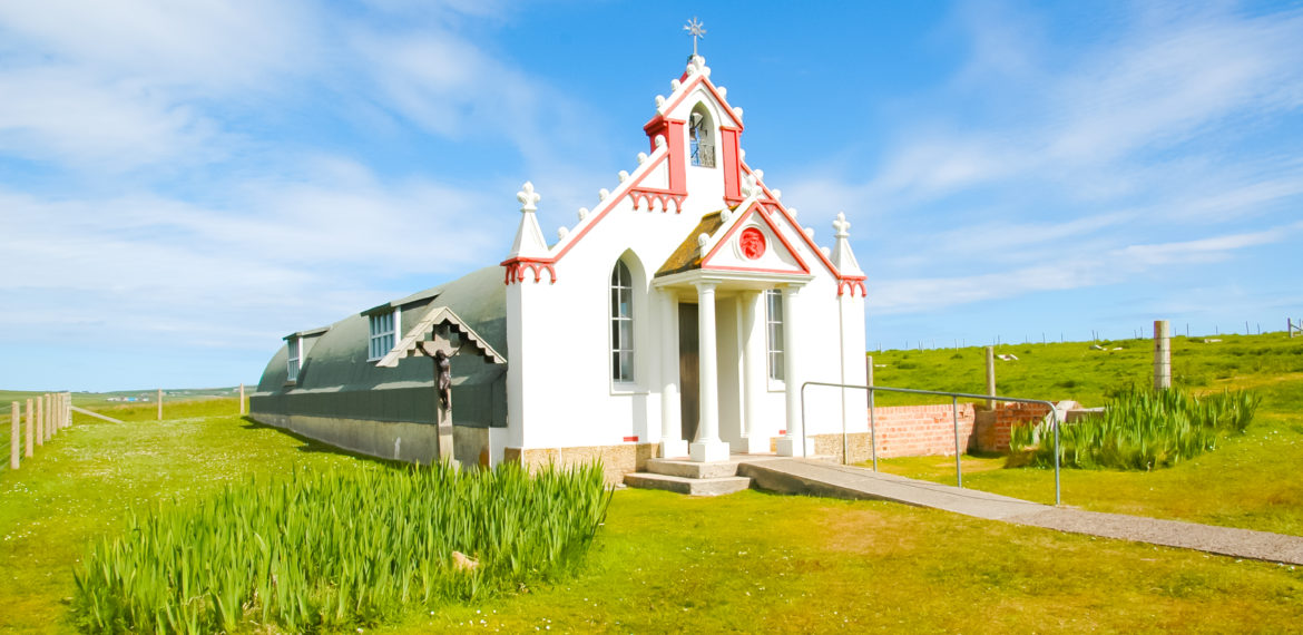 The Italian Chapel på Orknøyene