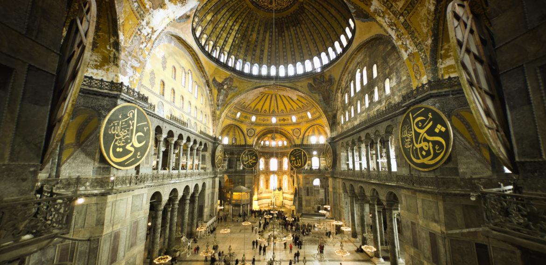 Hagia Sophia Istanbul Tyrkia