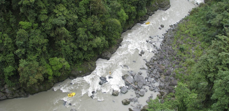 Costa Rica, rafting