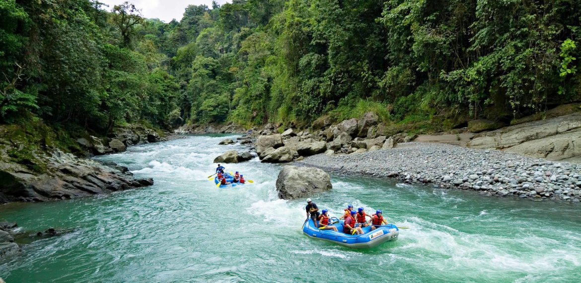 Costa Rica, Pacuare Rafting