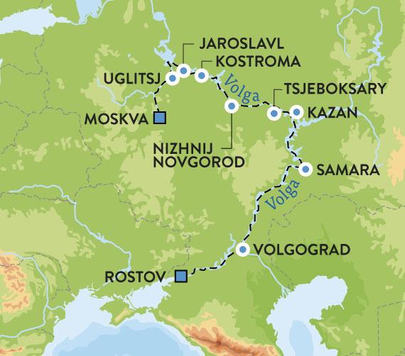Elvecruise I Russland Fra Moskva Til Rostov Escape Travel