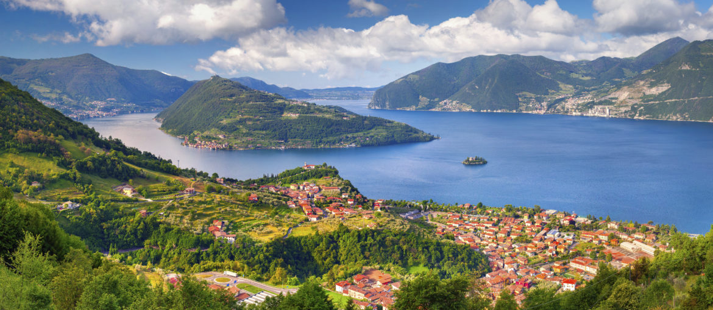 Lago d'Iseo Italia