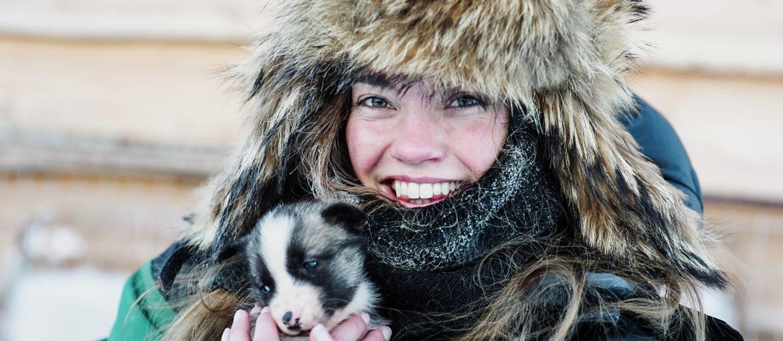 Hundekos på Svalbard Copyright: Agurtxane Concellon/Hurtigruten Svalbard